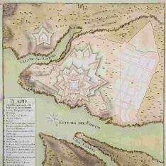 Plano de la Fortaleza de San Felipe