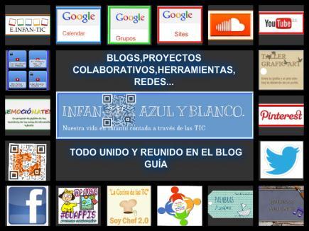 INFAN-TIC. AZUL Y BLANCO
