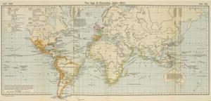 Mapa de los Descubrimientos del Mundo, 1340 – 1600