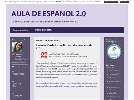 AULA DE ESPAÑOL 2.0