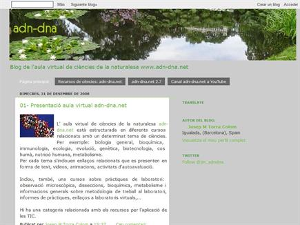adn-dna:blog del aula virtual de ciencias de la naturaleza adn-dna.net