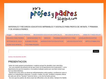 para profes y padres
