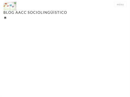 AZUCREANDO/BLOG AACC SOCIOLINGÜÍSTICO