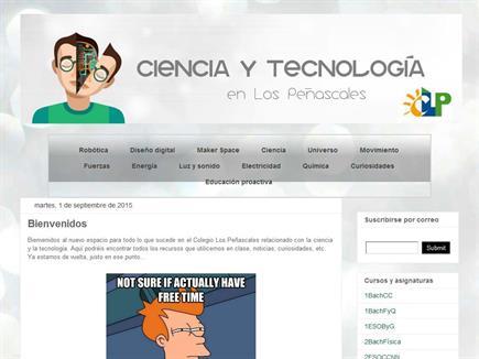 Ciencia y Tecnología en Los Peñascales