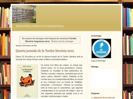 Biblioteca Institut Argentona
