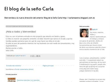 El blog de la Seño Carla