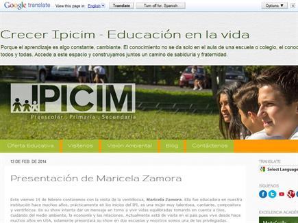 Crecer IPICIM - Educación en la vida