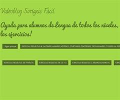 Videoblog Sintaxis Fácil - Premio Espiral