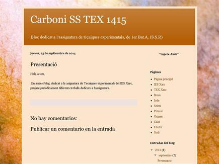 Carboni SS TEX 1415