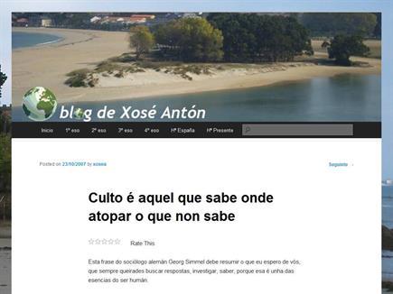 O blog de Xosé Antón