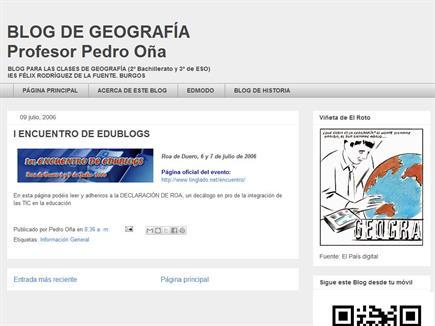 Blog de Geografía