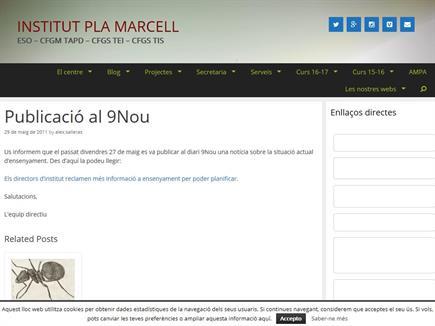 Pla Marcell, un projecte viu