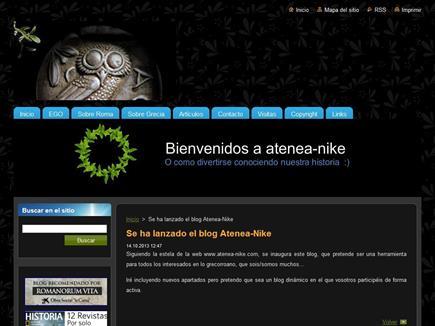 Atenea-nike, el blog de cultura clásica