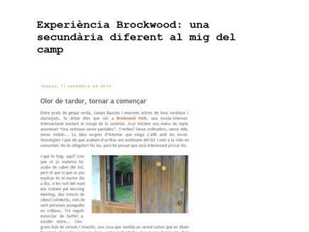 Experiència Brockwood: Una secundària diferent al mig del camp