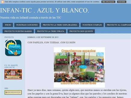 InfanTic- Azul y Blanco