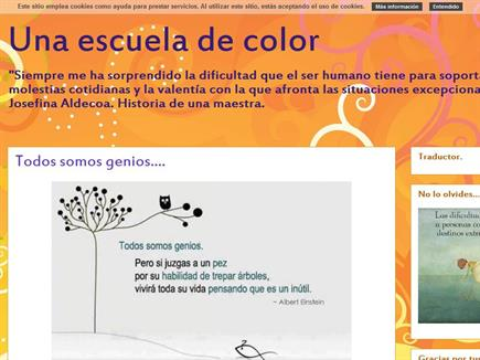 Una escuela de color.