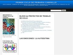 PRIMER CICLO DE PRIMARIA CAMINILLO