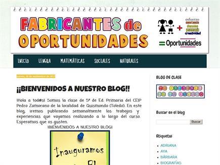 FABRICANTES DE OPORTUNIDADES