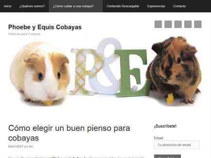 Phoebe y Equis Cobayas