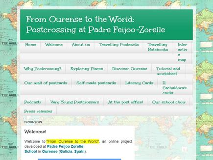 From Ourense to the World: Postcrossing at Padre Feijoo-Zorelle