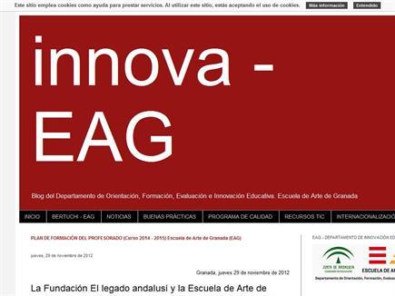 Blog del Departamento de Orientación, Formación, Evaluación e Innovación Educativa. Escuela de Arte de Granada