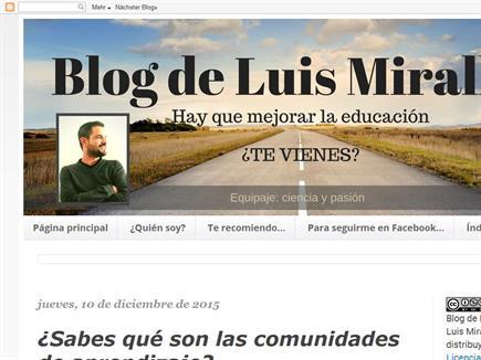 Blog de Luis Miralles