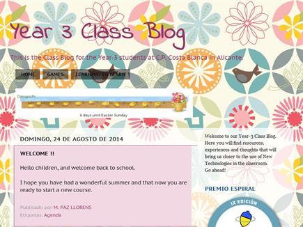 Year 3 Class Blog