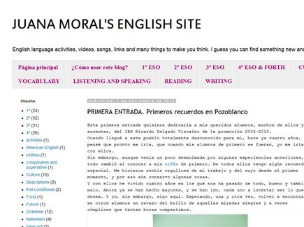 JUANA MORAL'S ENGLISH SITE