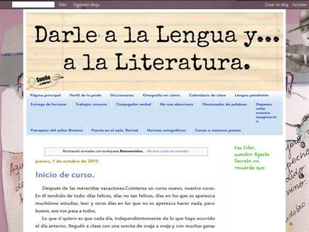 Darle a la Lengua y... a la Literatura