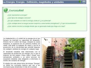 La Energía: Energía - Definición, magnitudes y unidades