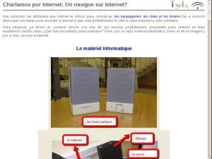 Charlamos por Internet: On navigue sur Internet?