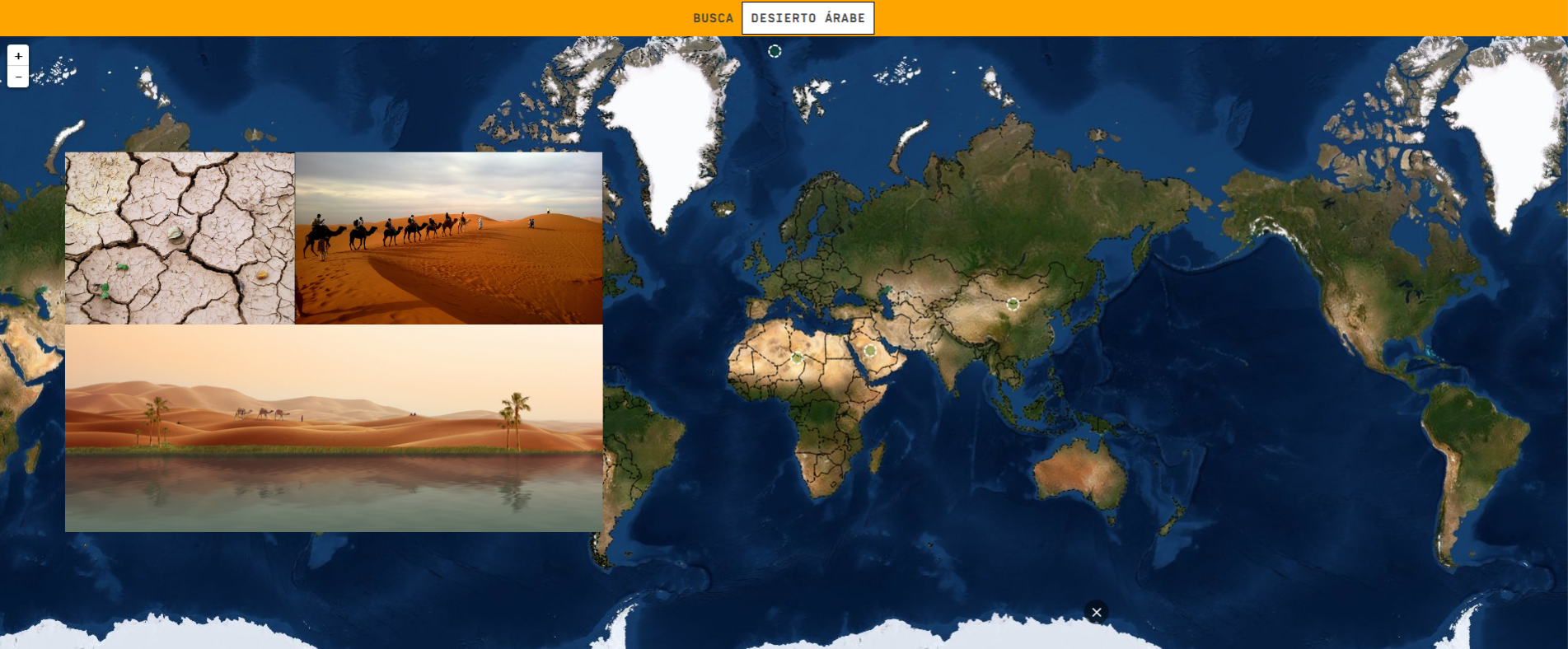 Deserts of the world - Easy Level