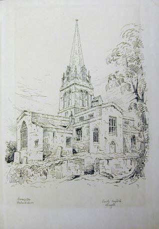 Iglesia de Bampton, Oxfordshire (Inglaterra)