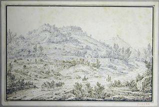 Vista de los alrededores de Palermo (Italia)