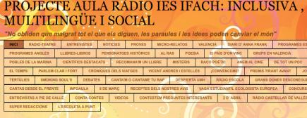 Proyecto radioiesifach: inclusiva,multilingüe,social