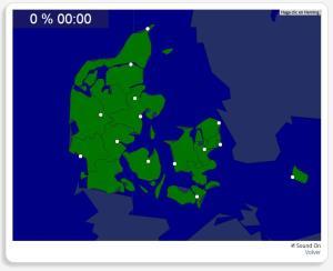 Dinamarca: Ciudades. Seterra