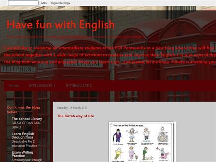 Have fun with English Intermediate