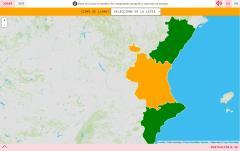 Provinces de la Communauté de Valence