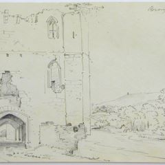 Castillo de Brougham, Inglaterra