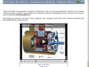 Electrónica de potencia e instalaciones eléctricas: Sistemas trifásicos