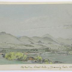 Vista de Homildon, Northumberland (Inglaterra)
