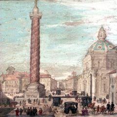 Plaza Colonna, en Roma