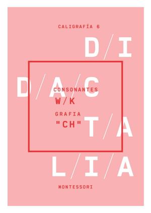 Consonantes w, k, ch. Números (0-5)