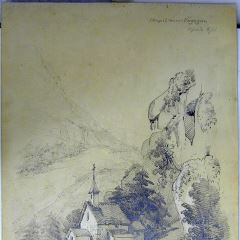 Capilla cerca de Vogogna (Italia)