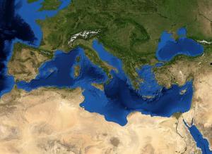 Europa. El Mar Mediterráneo