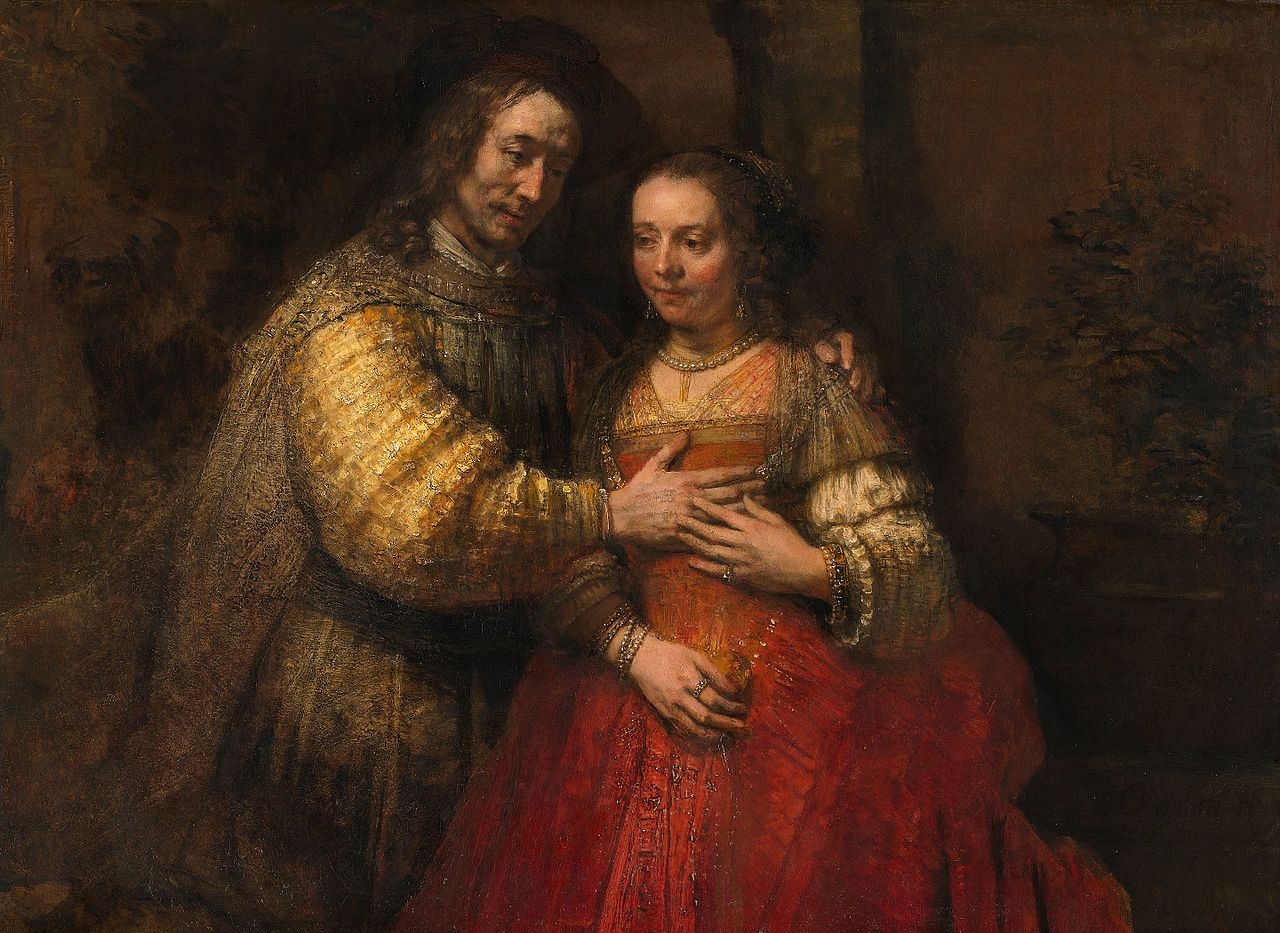 La novia judía (Isaac y Rebeca) 1666