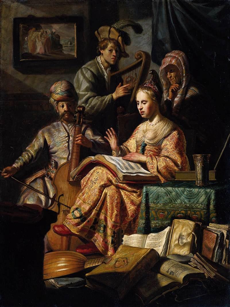 Compañía musical, 1626