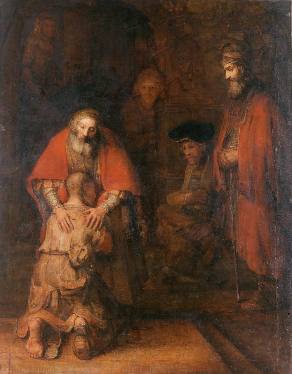 El retorno del hijo pródigo, 1668
