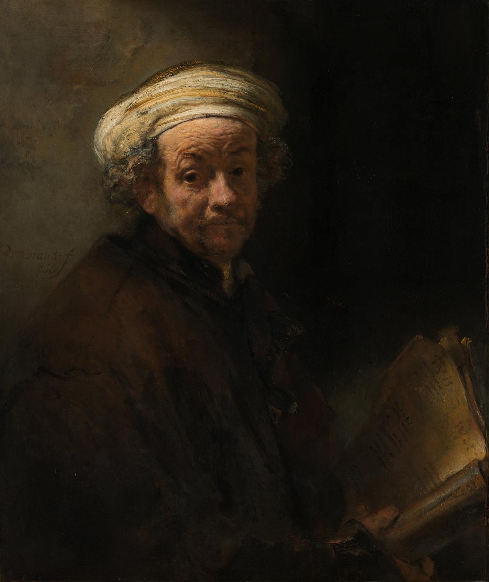 Autorretrato como el apóstol Pablo, 1662