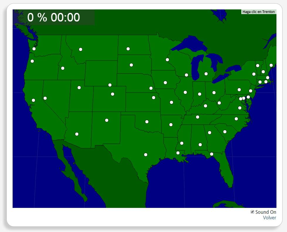 Estados Unidos: Capitales de los Estados
